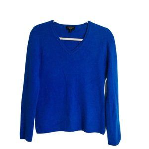 CHARTER CLUB | Luxury Cashmere Blue Sweater